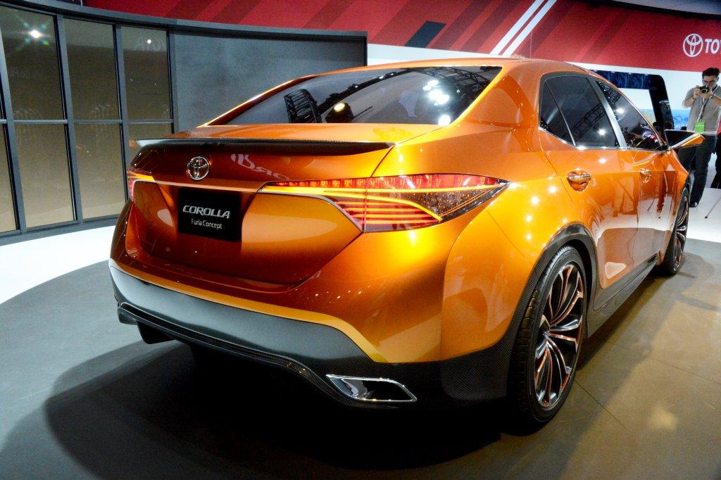 Toyota Corolla Furia Concept.