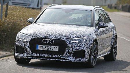 ����� Audi RS4 ����� ���������� 500-������� ����������