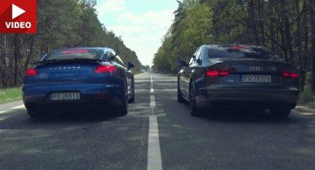 Top Gear ������ �������� ����� Audi S8 Plus ������ Porsche Panamera Turbo