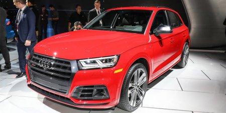 Кроссовер Audi SQ5 с бензиновым двигателем 354 л.с. был представлен в Детройте