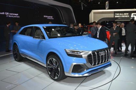 Audi Q8 2018 модельного года напомнил концепт e-tron quattro 2015 года