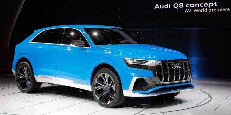 Кроссовер Audi Q8 получит спортивную версию с двигателем V8