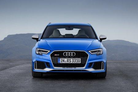 Audi представляет более мощный 2017 RS3 в форм-факторе седана и спортбэка