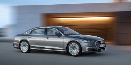 «Заряженные» версии Audi A8 нового поколения — S8 и S8 plus — будут оснащаться агрегатами от Porsche Panamera.