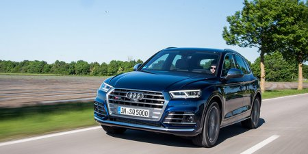 Audi представит кроссовер Q5 с мотором V6 мощностью 450 л.с. в сентябре