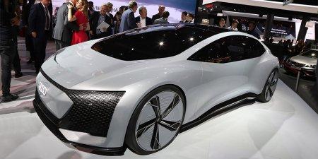 Компания Audi привезла на Франкфуртский автосалон концептуальный электрокар Aicon