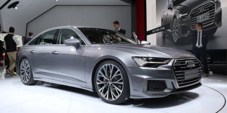 Audi A6 привезли в Женеву