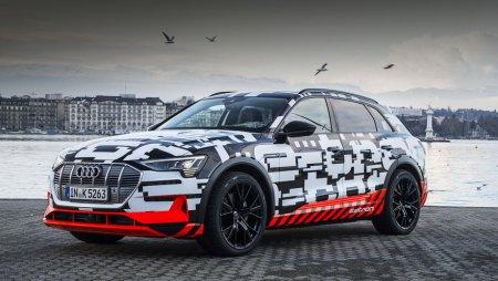 Электрокроссовер Audi e-tron проедет 400 км на полной зарядке