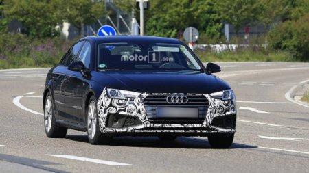 Обновленный седан Audi A4 попал в объективы во время дорожных испытаний