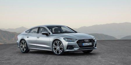 Начался прием заказов на лифтбек Audi A7, стали известны цены для России
