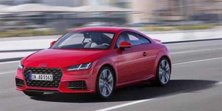 Audi обновили родстер и купе семейства TT