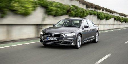 В России начат прием заказов на самый мощный седан Audi A8