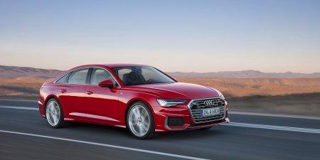 """Новый седан Audi A6 в России будет представлен бензиновым мотором на 340 """"лошадок"""""""