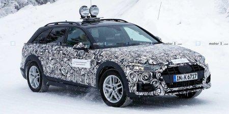Новая вседорожная версия Audi A4 Allroad попала в объективы фотошпионов