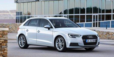 Audi представила модернизированный хэтчбек Audi A3 G-tron с двигателем, который может работать на газе