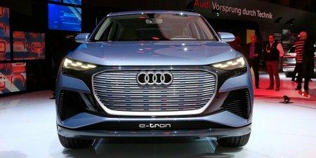 Кроссовер Audi Q4 e-tron получил повышенный уровень комфорта в салоне