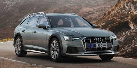 Новый универсал Audi A6 Allroad получил систему помощи при езде по бездорожью
