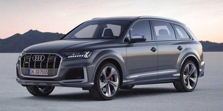 Спортивный кроссовер Audi SQ7 получил новый интерьер и тормозную систему