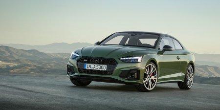 Компания Audi представила обновленные модели A5 и S5