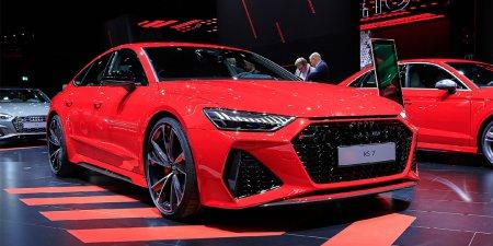 Спортивный лифтбек Audi RS7 был представлен на автосалоне во Франкфурте