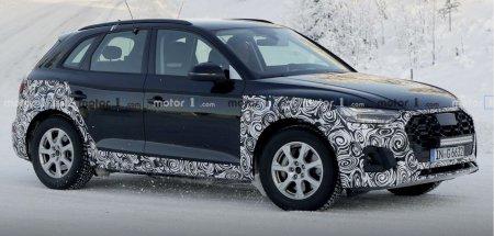 Обновлённый кроссовер Audi Q5 попал в кадр фотошпионов