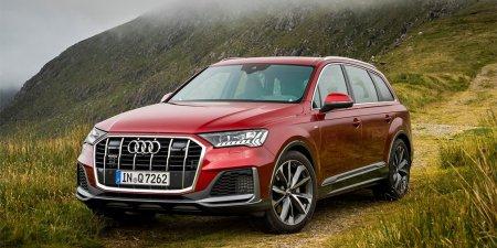 Обновленный кроссовер Audi Q7 доступен в России с дизельным мотором