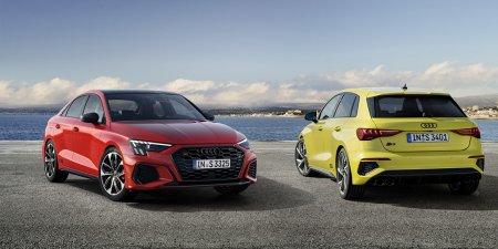 Новая  Audi A3 нового поколения в кузовах хэтчбэк и седан поступит в продажу уже в октябре