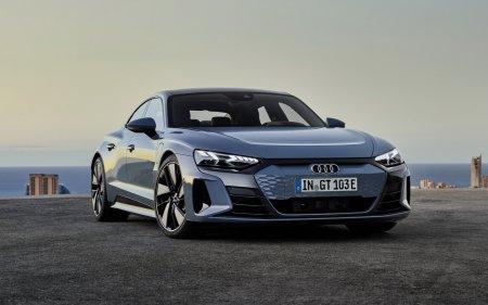 Audi представили онлайн электрический седан e-tron GT
