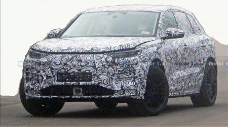 Электрокроссовер Audi Q5 вышел на дорожные испытания в серийном кузове
