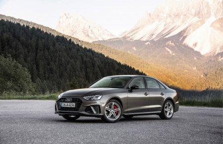 Обновленные Audi A4 и Audi A5 получили двигатели с технологией умеренного гибрида