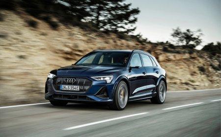 Audi представила в России электрокроссоверы e-tron S и e-tron S Sportback
